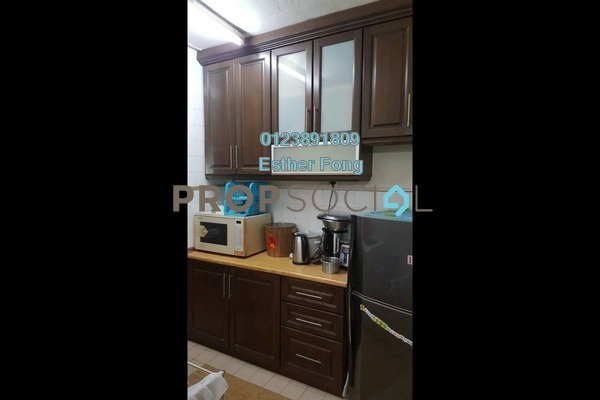 For Sale Apartment at Taman Pusat Kepong, Kepong Leasehold Semi Furnished 3R/2B 190k