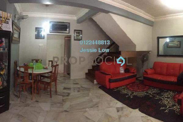 For Rent Terrace at Taman Lestari Perdana, Bandar Putra Permai Freehold Semi Furnished 4R/3B 1.1k