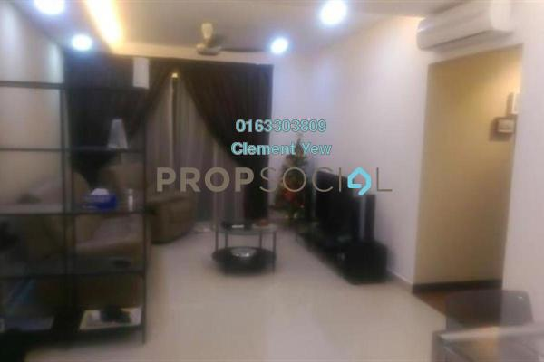 For Sale Condominium at Zen Residence, Puchong Freehold Fully Furnished 2R/2B 500k