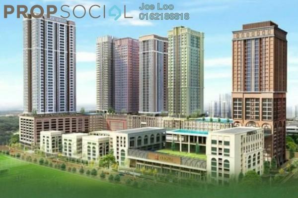 For Sale Condominium at Sunsuria 7th Avenue, Setia Alam Freehold Semi Furnished 2R/2B 524k