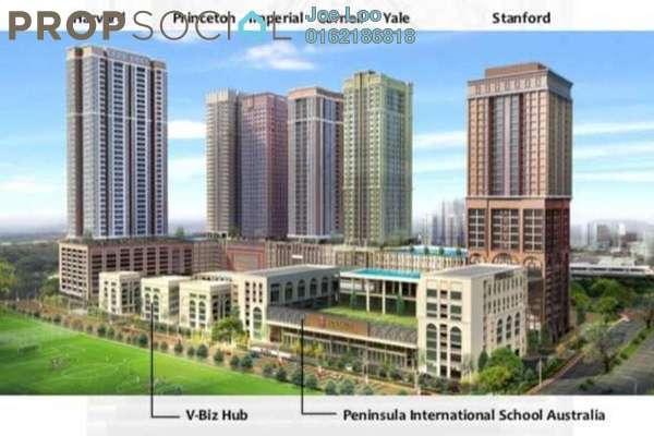 For Sale Condominium at Sunsuria 7th Avenue, Setia Alam Freehold Semi Furnished 2R/2B 457k