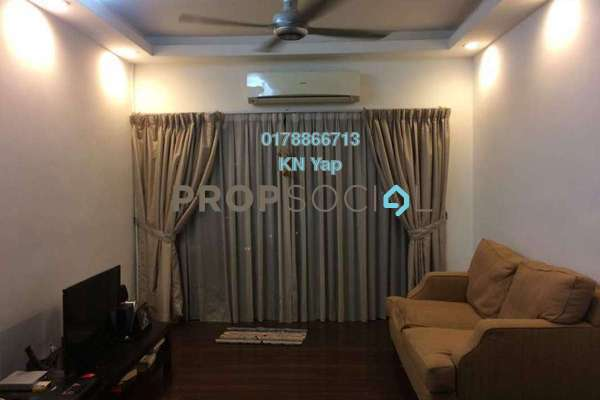 For Rent Condominium at Changkat View, Dutamas Freehold Semi Furnished 3R/2B 2.1k