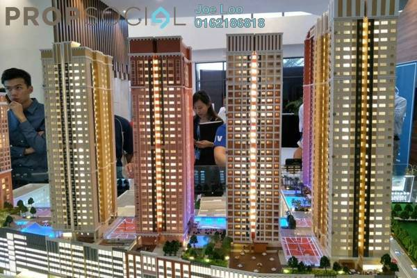 For Sale Condominium at Eramas, Setia Alam Freehold Semi Furnished 2R/2B 450k