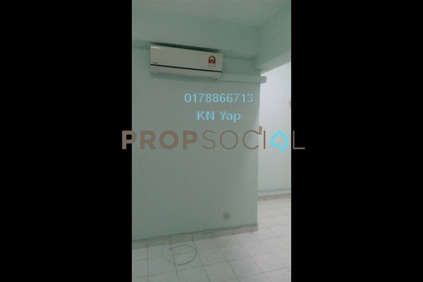 For Rent Condominium at Menara Puteri, Brickfields Freehold Semi Furnished 3R/2B 2k