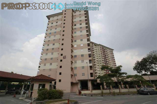 For Sale Condominium at Bintang Mas, Bandar Sri Permaisuri Freehold Semi Furnished 4R/2B 500k