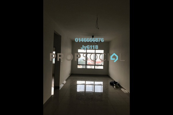 For Rent Condominium at The Parc Tower, Setapak Freehold Unfurnished 3R/2B 1.5k