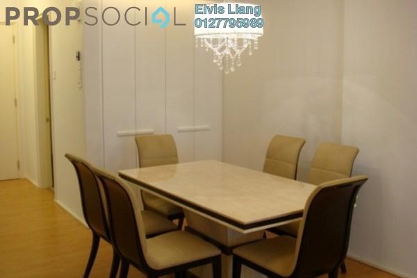 For Rent Apartment at i-Zen Kiara I, Mont Kiara Freehold Fully Furnished 2R/2B 3.3k