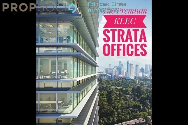 For Sale Office at KL Eco City, Mid Valley City Freehold Semi Furnished 0R/0B 1.9m