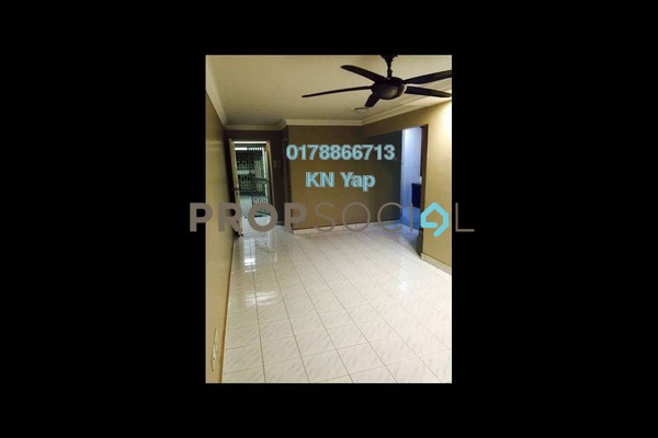For Rent Condominium at Ketumbar Heights, Cheras Freehold Unfurnished 3R/2B 1.2k