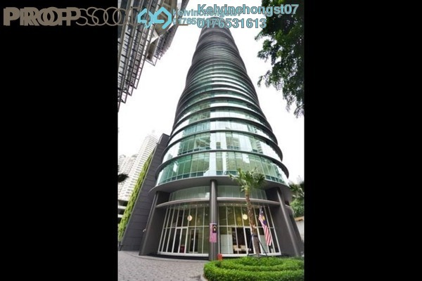 For Sale Condominium at Vortex Suites & Residences, KLCC Freehold Semi Furnished 2R/2B 1.2m