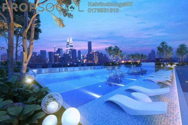 For Sale Condominium at Sentral Suites, KL Sentral Leasehold Semi Furnished 1R/1B 752k