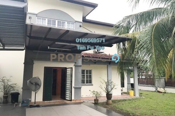 For Sale Terrace at Anggerik Aranda, Kota Kemuning Freehold Semi Furnished 4R/3B 1.02m