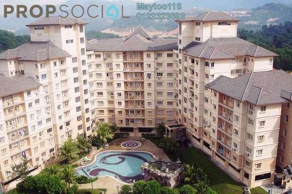For Rent Condominium at Oakleaf Park, Bukit Antarabangsa Freehold Semi Furnished 3R/2B 1.1k