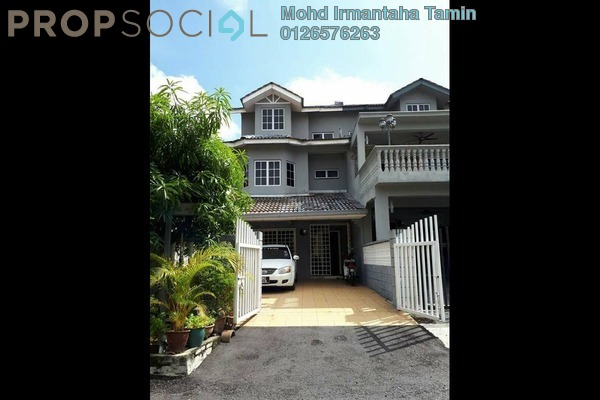 For Sale Terrace at Taman Cheras Jaya, Balakong Leasehold Semi Furnished 4R/4B 615k