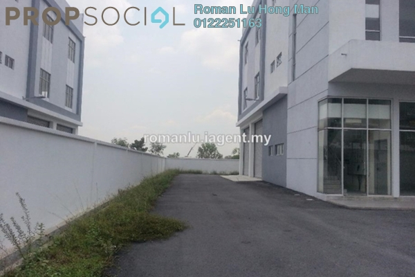 For Rent Factory at i-Parc2, Shah Alam Freehold Unfurnished 1R/6B 9.5k