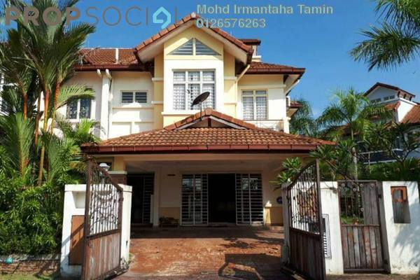 For Sale Terrace at Birai, Bukit Jelutong Freehold Semi Furnished 5R/4B 1.5m