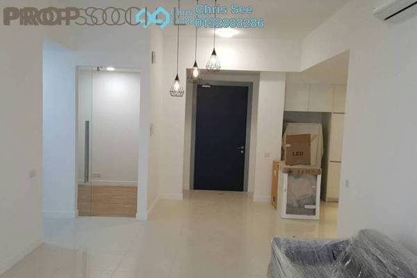For Rent Condominium at Reflection Residences, Mutiara Damansara Freehold Semi Furnished 2R/2B 2.5k