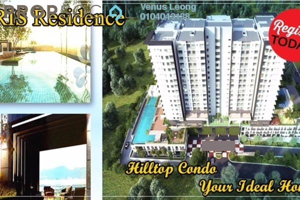 For Sale Condominium at Iris Residence, Bandar Sungai Long Freehold Unfurnished 4R/3B 552k