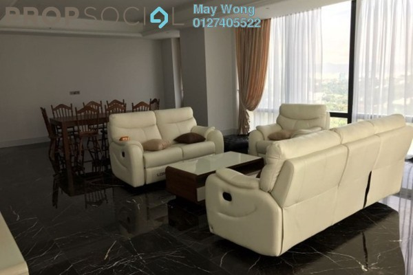 For Rent Condominium at St Regis Residences, KL Sentral Freehold Fully Furnished 3R/3B 17k