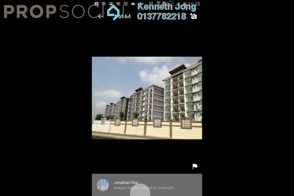 For Sale Apartment at Damai Apartment, Shah Alam Freehold Unfurnished 3R/2B 389k