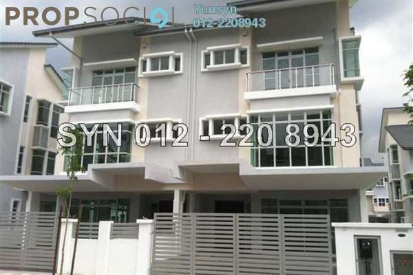 For Rent Semi-Detached at Laman Rimbunan, Kepong Leasehold Unfurnished 5R/6B 3.4k