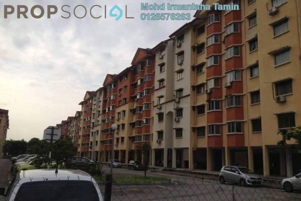 For Sale Apartment at Carlina Apartment, Kota Damansara Leasehold Semi Furnished 3R/2B 320k