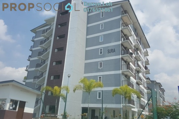 For Rent Apartment at Taman Emas, Dengkil Freehold Semi Furnished 3R/2B 1k