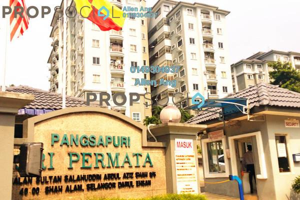 For Rent Condominium at Sri Permata, Shah Alam Leasehold Semi Furnished 2R/2B 1.3k