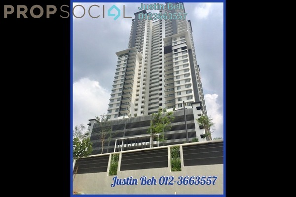 For Sale Condominium at Villa Crystal, Segambut Freehold Semi Furnished 4R/4B 830k