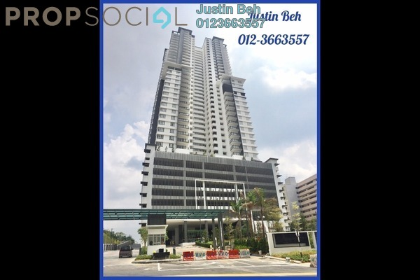 For Sale Condominium at Villa Crystal, Segambut Freehold Semi Furnished 3R/3B 650k
