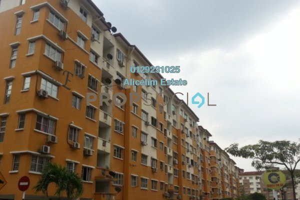 For Rent Apartment at Tainia Apartment, Kota Damansara Freehold Unfurnished 3R/2B 1.2k