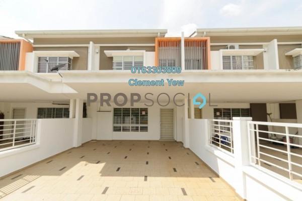 For Sale Terrace at Regia, Elmina Gardens Freehold Semi Furnished 4R/3B 730k