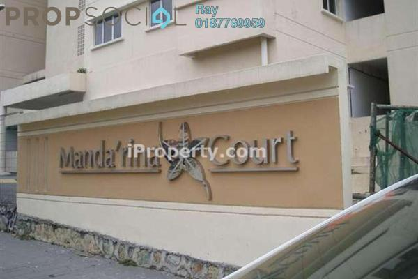For Rent Apartment at Mandarina Court, Cheras Freehold Semi Furnished 3R/2B 1.1k