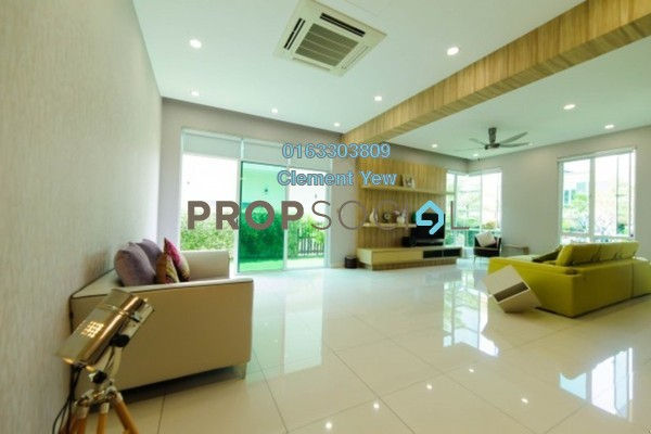 For Sale Semi-Detached at Setia Eco Park, Setia Alam Freehold Fully Furnished 5R/6B 2.55m