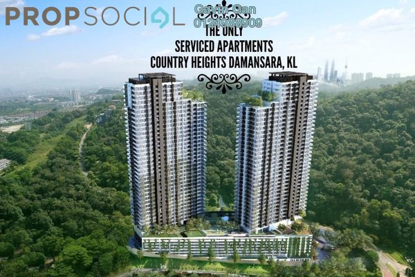 For Sale Condominium at Country Heights Damansara, Kuala Lumpur Freehold Semi Furnished 3R/2B 740k
