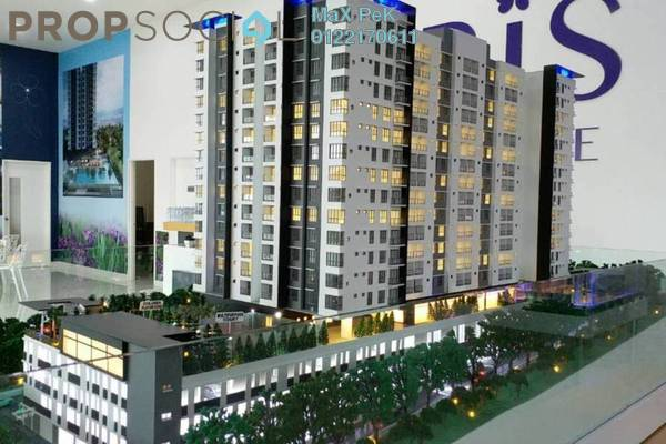 For Sale Condominium at Iris Residence, Bandar Sungai Long Freehold Unfurnished 3R/2B 499k