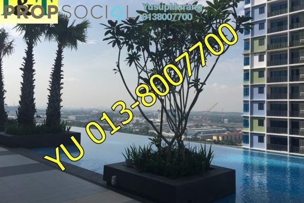 For Rent SoHo/Studio at i-City, Shah Alam Freehold Semi Furnished 0R/1B 950translationmissing:en.pricing.unit