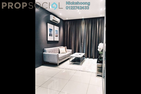 For Sale Condominium at Sentul Point, Sentul Freehold Unfurnished 2R/2B 410k