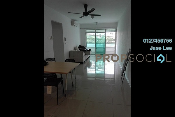 For Rent Condominium at Kiara Residence, Bukit Jalil Freehold Semi Furnished 3R/2B 1.6k