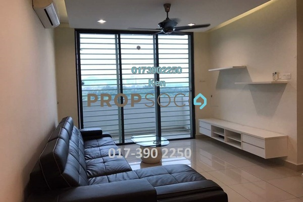 For Sale Condominium at USJ One Park, UEP Subang Jaya Freehold Fully Furnished 4R/3B 600k
