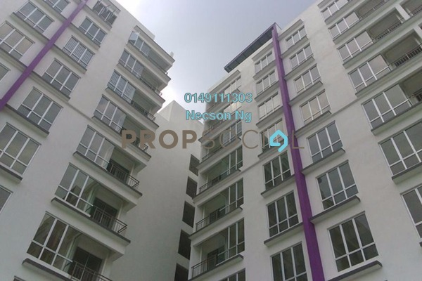 For Sale Condominium at Radius Residence, Selayang Heights Freehold Fully Furnished 3R/2B 340k