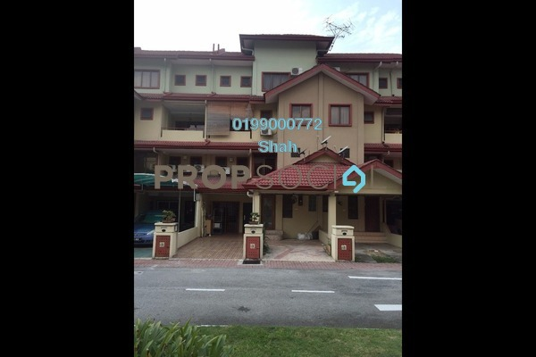 For Rent Townhouse at Villa Laman Tasik, Bandar Sri Permaisuri Freehold Semi Furnished 3R/2B 1.6k