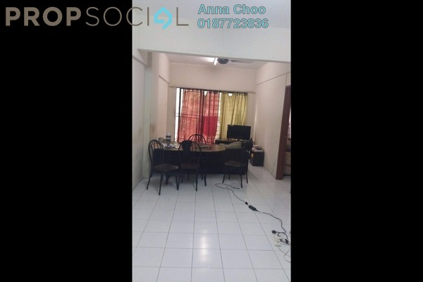For Sale Apartment at Ixora Apartment, Kepong Freehold Unfurnished 3R/2B 280k