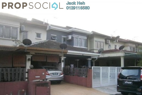 For Sale Terrace at Taman TTDI Jaya, TTDI Jaya Freehold Semi Furnished 4R/3B 625k