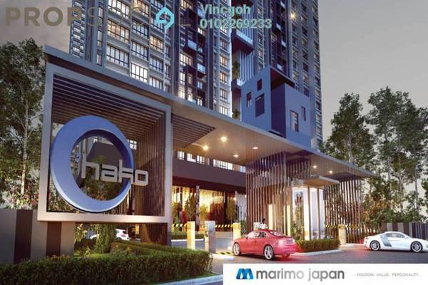For Sale Condominium at O'Hako, Bandar Puchong Jaya Freehold Unfurnished 2R/2B 480k