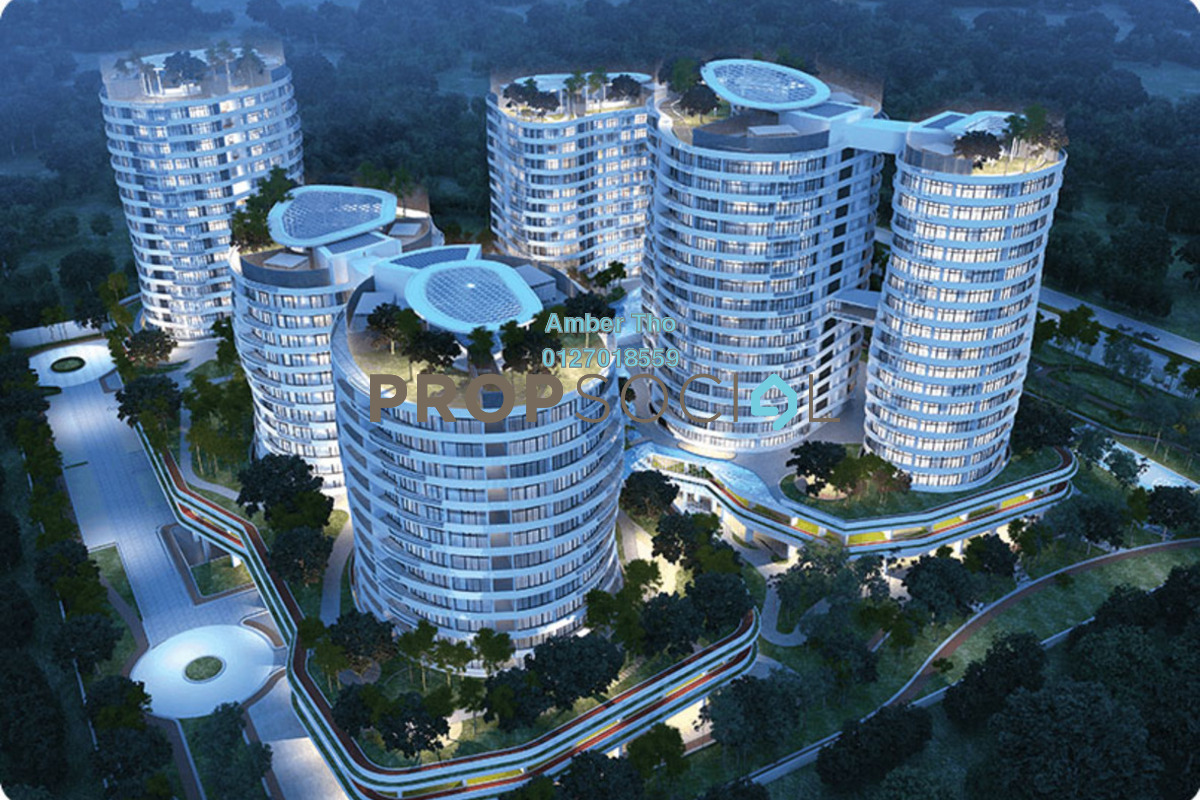 Condominium For Sale at O2 City, Puchong by Amber Tho