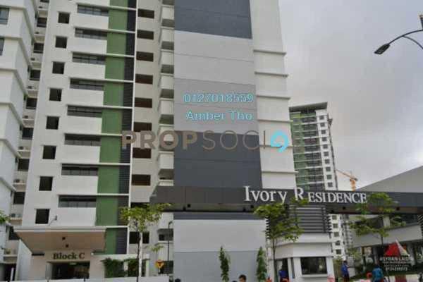 For Sale Condominium at Ivory Residence, Kajang Freehold Semi Furnished 3R/2B 451k