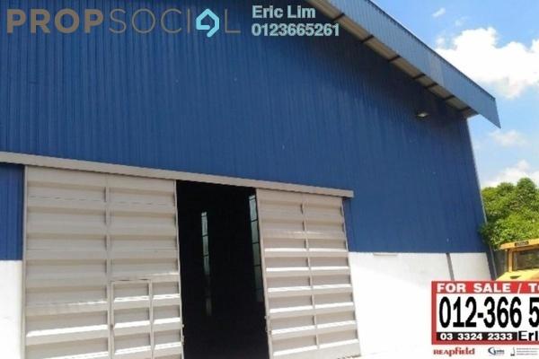 For Rent Factory at Pandamaran Industrial Estate, Port Klang Freehold Unfurnished 0R/0B 13k