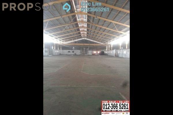 For Rent Factory at Pandamaran Industrial Estate, Port Klang Freehold Unfurnished 1R/2B 27k