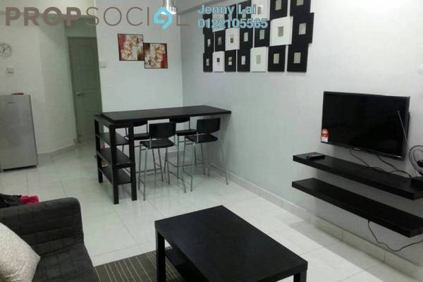For Rent Serviced Residence at Main Place Residence, UEP Subang Jaya Freehold Fully Furnished 2R/1B 1.5k